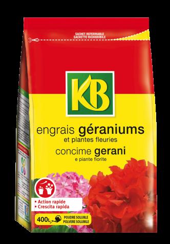 Concime gerani KB